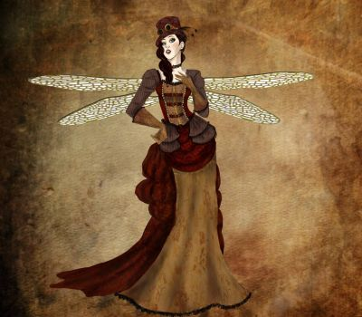 Lady Dragonfly by 00-JackieLantern-00