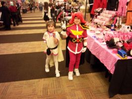 AFest '10: Amelia and Lina by TEi-Has-Pants