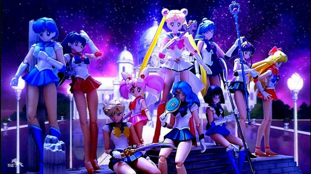 Sailor Senshii - Complete group by Animalunleashed
