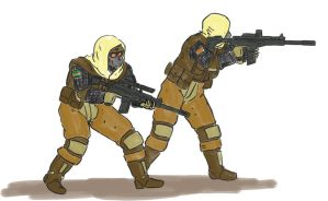 Ochre Lance Tacticals by jailgurdnegative