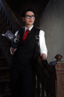 Joseph Oda Cosplay The Evil Within by LadyofRohan87