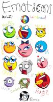 Emoticons by PrincessPengy