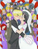 Wedding for Demon2theworld by miharuchan