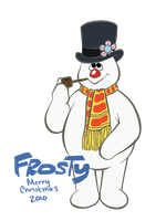 Frosty the Snowman by Kinotastic