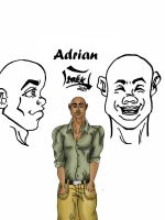 Character Study: Adrian by Dreaphilia