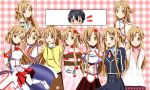 .: SAO : Pick your Asuna :. by Sincity2100
