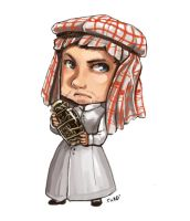 Comish - OC - Saudia Arabia by oneoftwo
