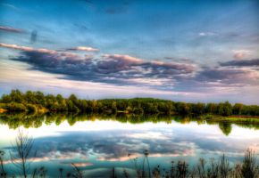 lake in sunset II by Andre3108