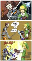 Link vs Gordon by Gondalier