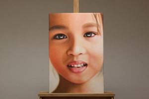 Thailand Child Oil Painting by Oil-Gallery