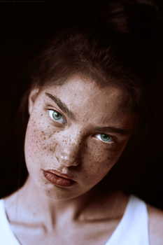 Freckles Colorization by new-americana