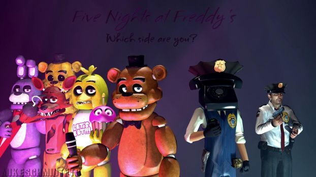 Here We Are again-  FNAF Contest Entry by OfficerSchmidtFTW
