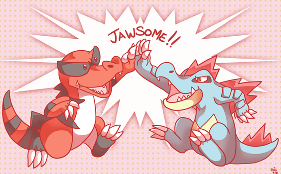 JAWSOME Pokemon by raizy