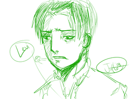 Levi (1st attempt) by jutto