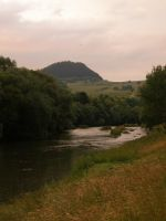 Sunset over Orava by Gwathiell