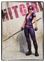 25 years later HitGirl by DmitryGrebenkov