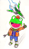 Our favorite frog! by LunaticPanda