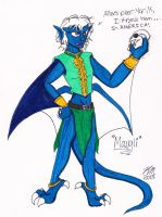 Gargoyles OC: Mowgli by DogDemonAbridged12
