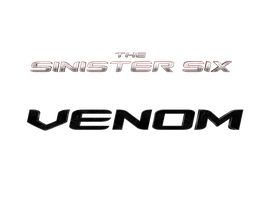THE SINISTER SIX + VENOM - LOGO by MrSteiners