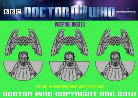 Doctor Who - Weeping Angels by mikedaws