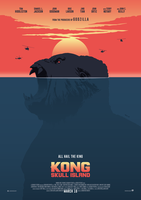 KONG: SKULL ISLAND Poster Art by RicoJrCreation
