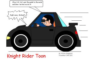 Knight Rider Toon by artluvr4life