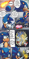 SSB Sonic the Hedgehog Comic by WaniRamirez