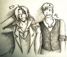 FMA: Ed and Al by Blistice