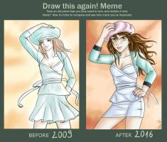 Pastel: Draw This Again Meme by yryahuln
