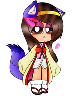 ~Me cosplaying as Izuna by Nini-the-kitty
