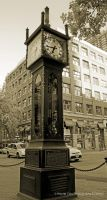 Historic Steam Clock Vancouver by wayner8088