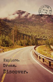 Explore. Dream. Discover. by 0someone0