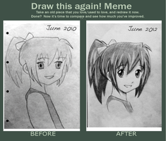 MEME: Draw this again! (mark crilley tutorial) by Lemon-Yelloww