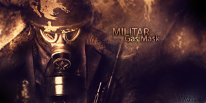 Militar Gas Mask by Wexxer
