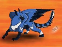 OC Lycius the Gryphon by Wheeljack-94