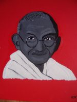GANDHI by EAMONREILLYDOTCOM by Gandhi-Club