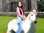 I love riding on a white horse by Kimberly-AJ-04-02
