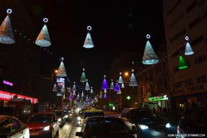holiday lights... by Iulian-dA-gallery