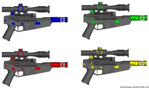 ZX-2 Team Choice Blasters by GeneralRich