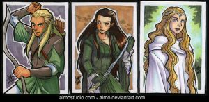 PSC - LOTR Elves by aimo