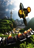 The Colony. by jedgraph