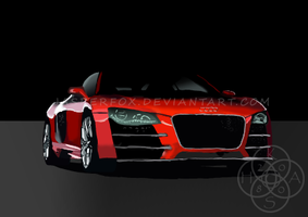 Audi R8 Vector by jasperfox