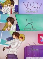 Mini comic (FredXJoy) fnafhs by ItsCami
