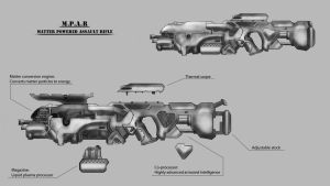 MPAR: Rifle concept by vanacal