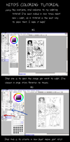 Hito's Sai Coloring Tutorial Part 1 by Hitotsumami