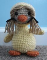 amigurumi chick cosplay by TheArtisansNook