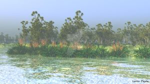 Cabbage Tree Country by Lance66