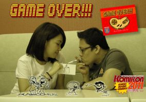 Game Over Pocket Size Indie Cartoon Book by Dinuguan
