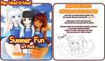 Summer Fun Art Pack by padfootlet
