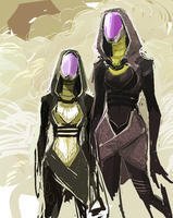 Quarians by adalli